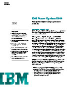 IBM Power Systems S914