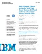IBM i Solution for Cloud Backup