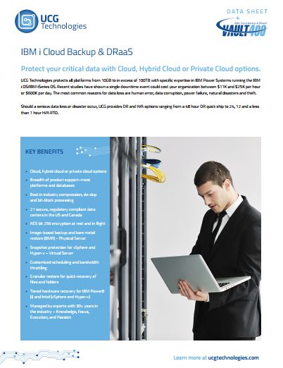 UCG Enterprise Cloud Backup, DR, & H/A